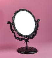 03 round anna  queen vintage makeup mirror Jacqueminot rotating desktop vanity mirror table mirror