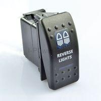 BLUE LED ILLUMINATED ROCKER SWITCH REVERSE LIGHTS ARB CARLING 12V 4X4 4WD