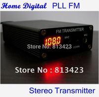 Home Digital PLL stereo power FM transmitter home radio station +ant+power