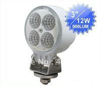 12W LED work lights Used for farming,mining,truck,excavator,boat,bike