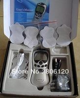 Christmas Promotion Good quality Tens Acupuncture Digital Therapy Machine Massager with retail package+ freeshipping