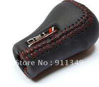 TRD leather gear shift knob ,shifting handle,wave rod head,refit handball,universal file head