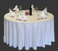 108inch dia high quality visa round table cloth