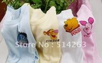 Hot Sell,New High Quality! T-shirts Babys Long Sleeve T-shirts Boys Girls T-shirts,4 Design,(16 PCS/LOT)