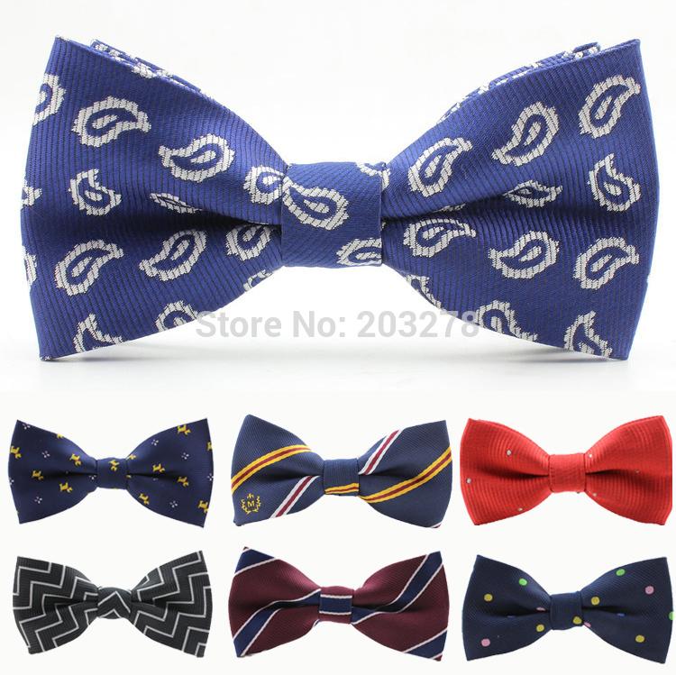 Мини-Корейский Мужские галстуки сплошной цвет шелка