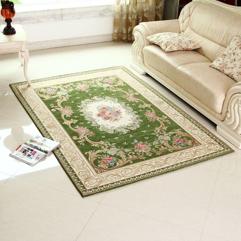 Online kopen wholesale green rug living room uit china green rug living room groothandel - Stijl land keuken chique ...