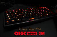 Original 2014 Gaming Keyboard Mechanical Noppoo Choc Mini-2M Wireless  Cherry MX Switch Black Computer Peripherals Dota 2