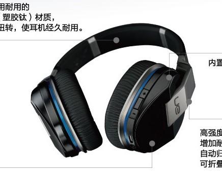 Logitech Ue9000 Gaming Headset Earphones Headphones Stero Game NoiseCancelling Dota 2 PC Computer Consumer Electronics