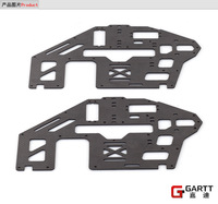 Freeshipping GARTT GT500 PRO Carbon Fiber Main Frame 2pieces 100% fits Align Trex 500 Big Sale