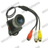 Mini HD Effio-E 700TVL 3.5-8mm Manual lens Sony CCD Security CCTV Home Audio camera