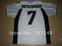 Miami University RedHawks #7 Ben Roethlisberger White College Football Jersey -Free Shipping