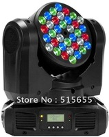 36X3W RGBW mini beam wash led moving head light