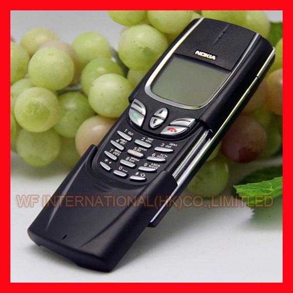 8850 2G GSM 900/1800 Refurbished Original Nokia 8850 Mobile Cell Phone English Russian Keyboard(China (Mainland))