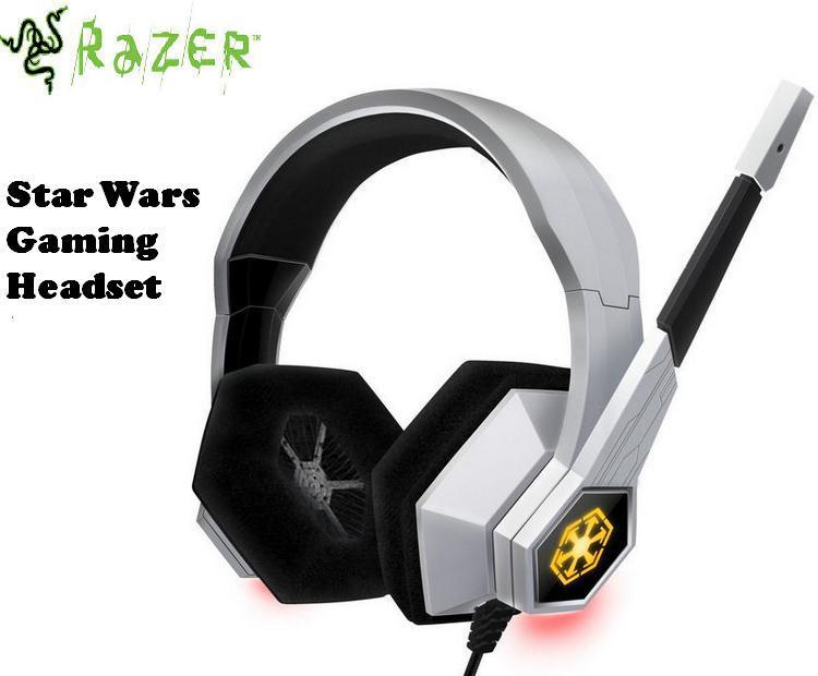Original Gaming Headphones Razer Star Wars Old Republic Headband Gaming Headset 7.1 Surround Sound Dota 2 PC Computer(China (Mainland))