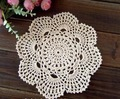 Free Shipping 7.9 inch New Round  Hand made crochet doily  diameter : 20 cm , lot of 20 pcs