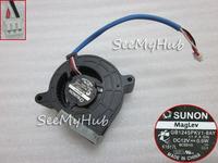 Free Shipping For SUNON GB1245PKV1-8AY 11.F.X.GN Server Blower Fan 12V 0.5W