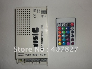 IR Music Controller Sound Sensitive 9 Channels 108W 9A DC12V for LED Strip RGB SMD 5050/3528 For room/car/party/Bar