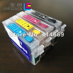 KCMY 4 full chip ink cartridge for Epson T0711 T0712 T0713 T0714 T0715, for Epson stylus D78 D92 D98 DX4500 B1100 S20 S21 SX100(China (Mainland))