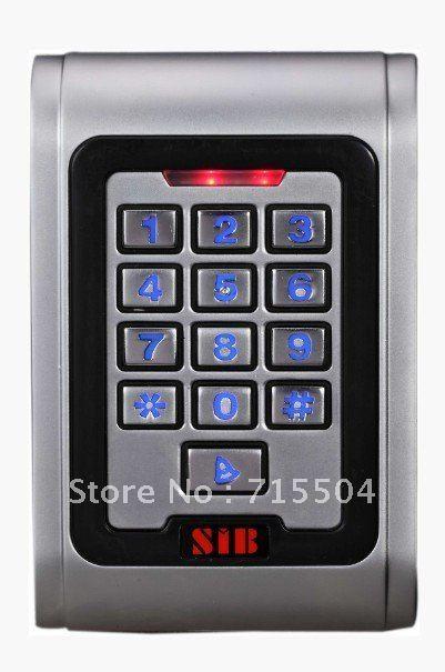 Metal keypad access controller waterproof IP68 S100EM(China (Mainland))