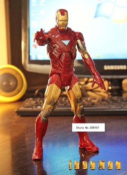 20cm PVC Iron Man Action Figures Action toy Figures new in box