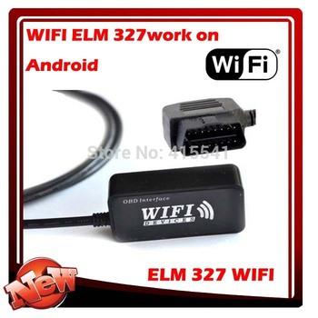 WiFi OBD II elm 327 usb wifi Car Diagnostics tool ELM327 OBDII for iphone and PC
