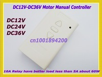 DC12V DC24V DC36V Motor Controller Motor Forwards Reverse Controller Up Down Stop Manual Controller Limit Switch Terminal