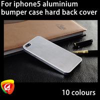 Aluminium Mesh Case For iPhone 5 Hard Back Cover Titanium Steel Mesh Matel Case For iPhone5G
