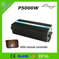 24V 220V Pure Sine Wave Off Grid Inverter 5000W with Remote Control