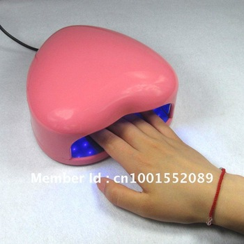 Nail art tool LED light armour oil glue special phototherapy light heart phototherapy machine QQ armour necessary