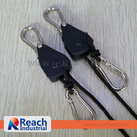 Rope Ratchet Hanger Grow Tent Kits Garden Accessory Hanger-2pcs/pair-10pairs/20pcs with free shipping