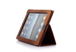 Free Shipping Borofone Crocodile pattern Leather Case Cover for iPad 2,Protective cover for iPad 2(China (Mainland))