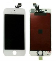 1pc LCD Touch Screen Digitizer Glass Frame Assembly Replacement iPhone 5 5G white or black
