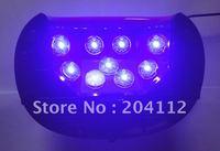 4 pcs/ lot  9 x 5 watts led bulbs 45 watts LED Nail lamps for gels 45W LED UV Lamp  110v-250v
