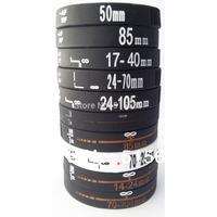 10pcs SLR Nikon Canon Lens Bracelet Shot Silicone Rubber Wristband Photographers XMAS Gift Black Cool