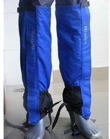 1 pair waterproof  outdoor hiking  walking climbing  snow legging gaiters lengthening gaiters 53cm