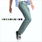[special offer]Free shipping!Men casual pants Korean Straight Thickening of jeans100% cotton Trousers / size 28-36 / 7 colors(China (Mainland))