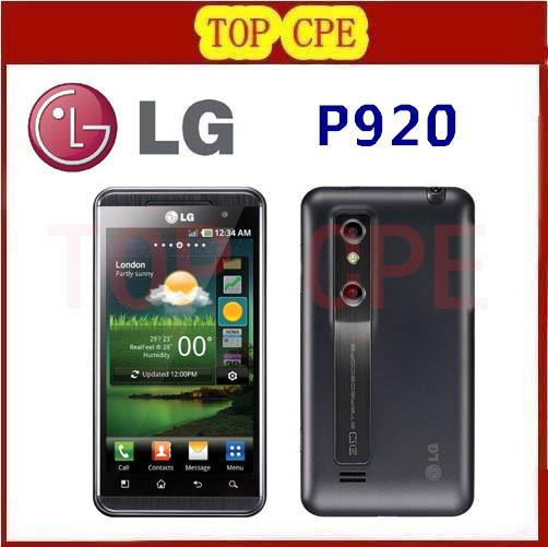 P920 LG Optimus 3D original unlocked GSM 3G WIFI GPS dual 5MP Dual-core P920 3D phone dropshipping Refurbished(China (Mainland))