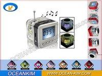 HIFI USB Mp3 speaker Stereo Mini Speaker Music MP3 Player Amplifier loudspeaker Singapore packet free shipping