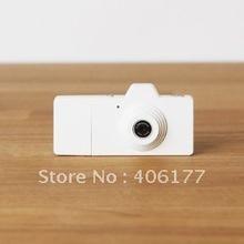 Wholesale 100pcs  Mini USB Digital Camera in white Free Shipping
