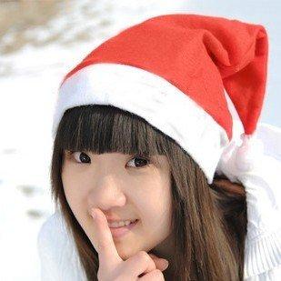 1000pcs Free shipping christmas cap santa claus hat christmas decoration supplies hat  28*35cm