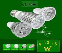 High Power Dimmable GU10 E27 MR16 3*3W 9W 12W 15W 110V/220V CREE LED Light LED Bulb Lamp LED Spotlight 10pcs