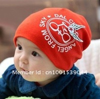 Free shipping soft cotton beanie hat kids cap
