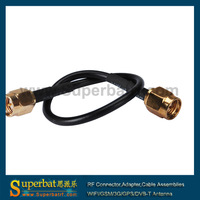 Universal SMA male to SMA male pigtail RG 174 cable 5m wholesale price