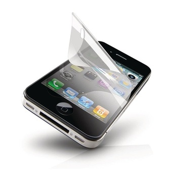 Screen Protective Film without Retail Package For Iphone 4 4S  LCD Screen Protector 50pcs/lot