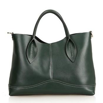 100% genuine leather women handbags brand vintage fashion shopping leather bags designer brand famous women messenger bag 2015