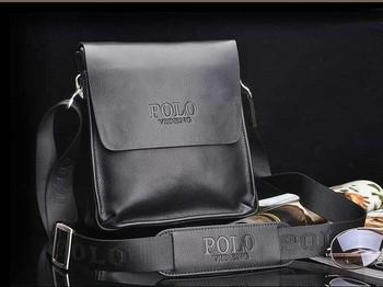20132 New Arrived free shipping genuine leather men bag fashion men messenger bag bussiness bag  SK110