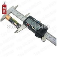 """Electric 6"""" Stainless Steel Digital Vernier Dial Caliper Gauge Micrometer 150MM"""