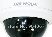 Hikvision Camera, IP camera  DS-2CD764F-EI, Network camera, 1.3 MP Network Indoor Dome Camera, Vandal-proof dome camera W/IR