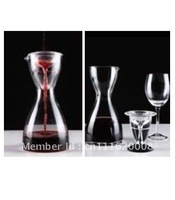Two in One Crystal Glass Wine Decanter