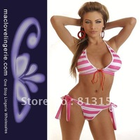 Free Shipping!! ML37026 well sale  Ladies sexy panty and bra set high fashion swimwear bikini set